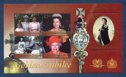 Nouvelle Guinée - YT Bloc N°  - Neuf Sans Charnière - Golden Jubilee - 2002 - Guinee (1958-...)