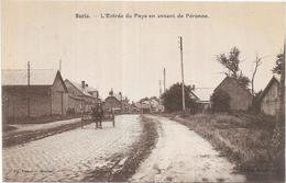 NURLU: L'ENTREE DU PAYS EN VENANT DE PERONNE - France