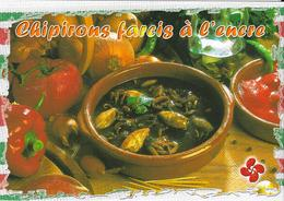 CHIPIRONS FARCES A L'ENCRE  (pour 6 Personnes) - Recette Au Dos. - Küchenrezepte