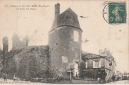 H31- 24) CHATEAU DE SAINTE ALVAIRE (DORDOGNE) LA TOUR DES DAMES  - (ANIMEE) - France