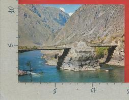 CARTOLINA NV PERU - OLLANTAYTAMBO - Puente Incaico - 10 X 15 - Perù