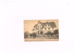 Linjs Hôtel Et église Protestante.Expédié à Bruxelles. - Knokke