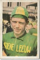 Coureur - Wielrenner  *  Chromo Vignette Noël Foré  - Adegem 1932 - Team Groene Leeuw - Cycling