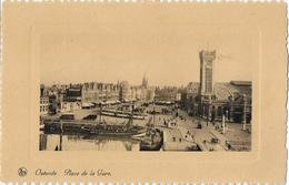BELGIQUE - OSTENDE - Place De La Gare - Oostende