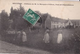 CPA//38//001......SEPTEME ...CHATEAU DE M LE MARQUIS D ALBON - Unclassified