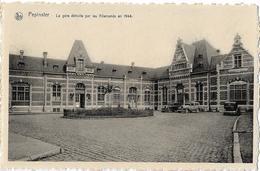 BELGIQUE - PEPINSTER - La Gare Détruite Par Les Allemands En 1944 - Voiture - Pepinster