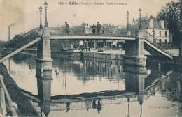 Lille Merlot 132 Cliché BF Ancien Pont Tournant Etat Moyen - Lille