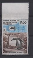 T.A.A.F N° 180 ** - MANCHOT (PROGRAMME ECOPLIE) - Cote 6.40 € - Penguins