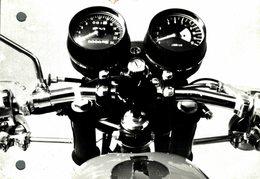 "Kawasaki 350  +-12cm X 17cm "" Perforada "" Moto MOTOCROSS MOTORCYCLE Douglas J Jackson Archive Of Motorcycles - Foto"