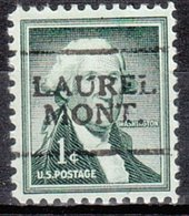USA Precancel Vorausentwertung Preo, Locals Montana, Laurel 701 - Vereinigte Staaten