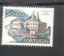 1158 X  VII Landschaften Und Baudenkmäler / Palast In Sintra ** MNH Postfrisch - 1910-... Republic