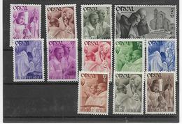 België  N° 556/567  Xx Postfris - Belgio