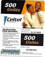 @+ CONGO (RDC) - Celtel - Couple - 31/12/2003 - Congo