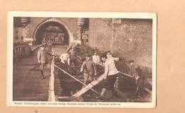Antwerpen 1914 1918 Duitsers Herstellen De Brug Van De Herentalse Poort - Antwerpen