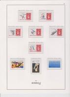 FRANCE Année 1992 COMPLETE 48 T Neufs Xx N° YT 2736 à 2784 - 1990-1999