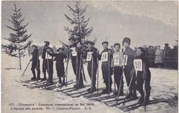 CHAMONIX  -  CONCOURS INTERNATIONL DE SKI 1908 - Chamonix-Mont-Blanc