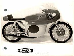 "Jawa +-15cm X 11cm "" Perforada "" Moto MOTOCROSS MOTORCYCLE Douglas J Jackson Archive Of Motorcycles - Foto's"