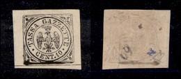 ANTICHI STATI ITALIANI - MODENA - 1859 - Segnatasse - 10 Cent (5) Gomma Originale - Molto Bello - Diena (1.800) - Timbres