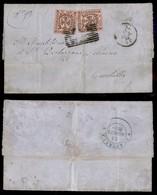 ANTICHI STATI ITALIANI - MODENA - Governo Provvisorio Cisapennino - Due 10 Cent (9) Ottimamente Marginato Su Lettera Da  - Timbres