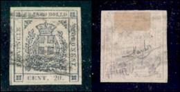 ANTICHI STATI ITALIANI - MODENA - 1859 - 20 Cent (15) - Usato - Molto Bello - Raybaudi (450) - Timbres