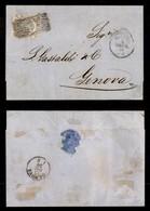 ANTICHI STATI ITALIANI - MODENA - 20 Cent (15) - Lettera Da Modena A Genova Del 14.12.59 - Timbres