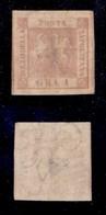 ANTICHI STATI ITALIANI - NAPOLI - 1858 - 1 Grano (4d) - Carta Sottile - Senza Gomma (700 Senza Gomma) - Timbres