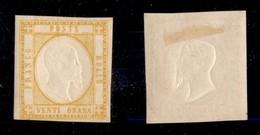 ANTICHI STATI ITALIANI - PROVINCE NAPOLETANE - 1861 - 20 Grana (23) - Gomma Originale - Timbres