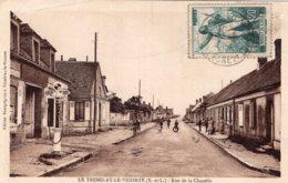 S3812 Cpa 28 Le Tremblay Le Vicomte - Rue De La Chapelle - Other Municipalities