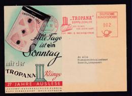 1953 - 2 Pf. Freistempel Köln Ostheim - Massendrucksachenkarte An Beamte - SEHR  SELTENE  PORTOSTUFE - [7] République Fédérale
