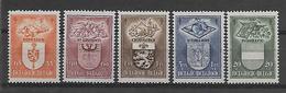 België  N° 756/760  Xx Postfris  Cote  32,00 Euro - Nuevos