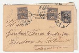 J. Meixler Kod Majke Božje Rijeka Company Postcard Posted 1905 Fiume To Zadretovac Bei Šibenik B200110 - Croatia