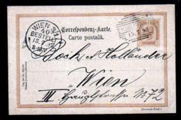 2 Kr. österr. Ganzsachen 1898 Ab KIRLIBABA (Siebenbürgen) Nach Wien - 1881-1918: Charles Ier
