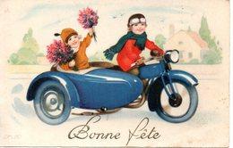 Fête : Bonne Fête En Side-car - Fêtes - Voeux