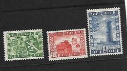 België  N° 823/825   Xx Postfris  Cote  16,00 Euro - Nuevos