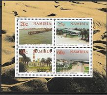 1992 Namibia Mi. Bl. 15 **MNH 100 Jahre Stadt Swakopmund - Namibie (1990- ...)