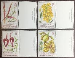 Solomon Islands 1989 Orchids Flowers MNH - Orchids