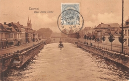 Tournai - Quai Notre-Dame Avec Remorqueur - Doornik
