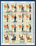 Guinée Equatoriale - YT Bloc N° - Oblitéré - Uniformes Militaire - 1974 - Equatorial Guinea