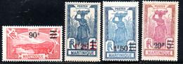 Martinique  114/6,119   */** - Nuevos