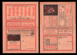 ITALIE Entiers  BLP - Série: 2 LOMBARDIE (sans Interieur)/tigre* Auto/alcool*/livre/telephone/laine. - Timbres Pour Envel. Publicitaires (BLP)