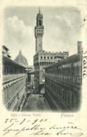 Firenze Offizzi E Palazzo Vecchio RV Beau Timbre Cachet - Firenze (Florence)