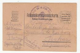 Hungary WWI Feldpost Postcard Posted 1916 FP424 To Bakar B200110 - Croatia