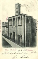Ravznna Palazzo Di Teodorico  RV Beau Timbre Cachet - Ravenna
