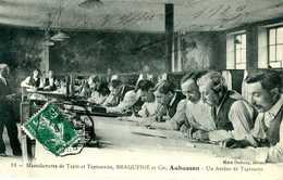 AUBUSSON  = Manufacture De Tapis... BRAQUENIE Et Cie Un Atelier De Tapisserie       1287 - Aubusson