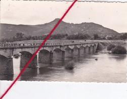 CP 07 -  Environs De RUOMS -  - Pont Et Rocher De SAMPZON   (point De Colle Au Verso) - Ruoms