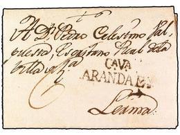 SPAIN: PREPHILATELIC MARKS  DP14 CASTILLA LA VIEJA - Espagne