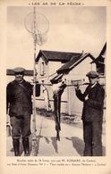 LES AS DE LA PÊCHE : BROCHET MÂLE De 24 LIVRES PRIS PAR M. ROSSARD De CORBEIL - LE FIL DIAMANT ~ 1930 (ad617) - Corbeil Essonnes
