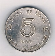 5 DOLLAR  1980 HONGKONG /314/ - Hongkong