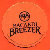 Sous Bock - Coaster Bacardi Breezer Orange - Chauve Souris - Bierdeckel