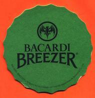 Sous Bock - Coaster Bacardi Breezer Vert - Chauve Souris - Bierdeckel